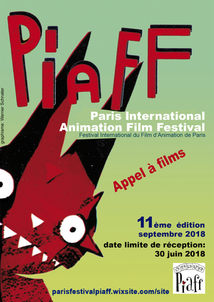 PIAFF, Festival International du Film d'Animation de Paris