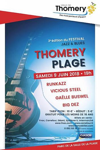 Festival Jazz and Blues Thomery Plage