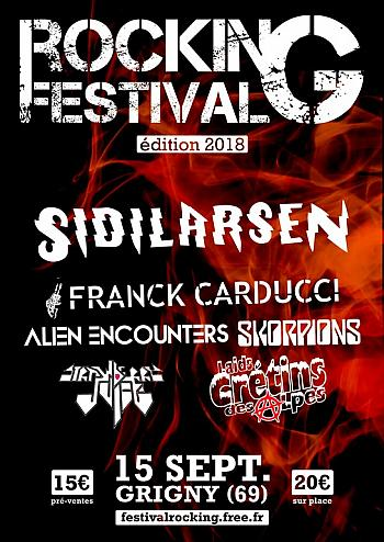 Rock in Grigny